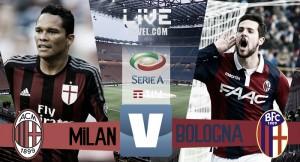 Milan - Bologna in diretta, Serie A 2016/17 LIVE (3-0): MILAN IN EUROPA LEAGUE!