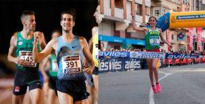 David Bustos y Solange Pereira se imponen en Avilés