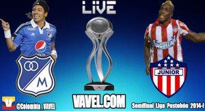 Millonarios vs Junior en vivo online