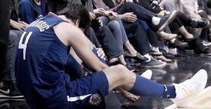 NBA - Si ferma Milos Teodosic a causa di un infortunio al piede