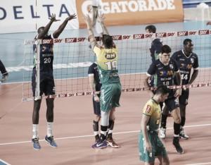 Resultado Minas x Montes Claros pela Superliga Masculina de Vôlei (3-0)