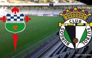 Racing de Ferrol - Burgos: duelo de contrastes en A Malata