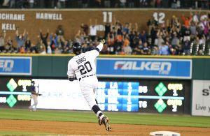 Rajai Davis Hits Game Winning Home Run As Detroit Tigers Defeat Minnesota Twins