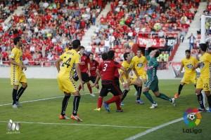 El Mirandés desata su furia atacante en Lugo(1-4)