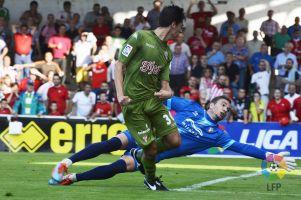 Mirandes - Sporting de Gijón: puntuaciones del Sporting,  jornada 5
