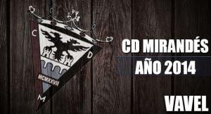 CD Mirandés 2014: del infierno al cielo en un abrir y cerrar de ojos