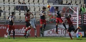 Contundente victoria del Mirandés ante un flojo Bilbao Athletic