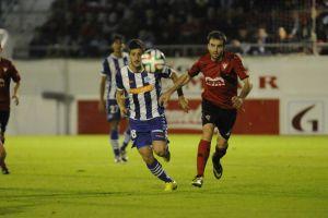 El Mirandés se despide de la Copa del Rey ante el Alavés