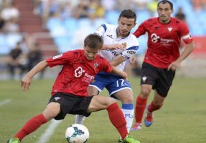 Resultado Real Zaragoza - C.D. Mirandés en Segunda División 2015 (0-1)