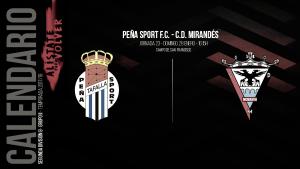 Previa: Peña Sport - CD Mirandés: sumar de tres en tres se convierte en obligación