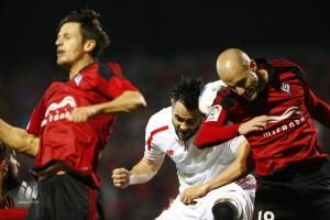Mirandés: adiós a la Copa con honra y honor