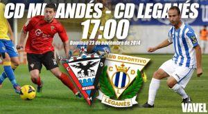 Mirandés - Leganés: una victoria para olvidar los malos resultados