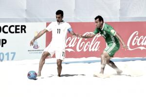 Desconcentración impide buen debut en el Mundial de Playa