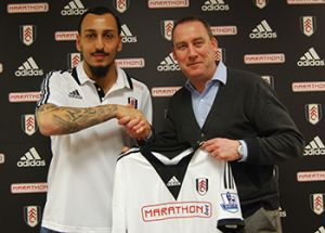 Fulham break the bank for Konstantinos Mitroglou