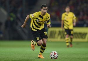 Borussia Dortmund struck by Mkhitaryan injury