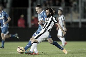 La Juventus passa al Castellani e allunga di nuovo sulla Roma