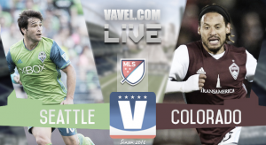 Score Seattle Sounders vs Colorado Rapids in 2016 MLS Playoffs (2-1)