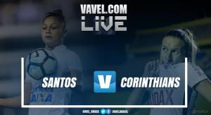 Resultado Santos x Corinthians pela final do Brasileiro Feminino 2017 (2-0)