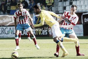 Las Palmas no encontró la reacción esperada en Lugo