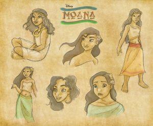 Nuevos detalles de 'Moana', la película sobre la nueva princesa Disney
