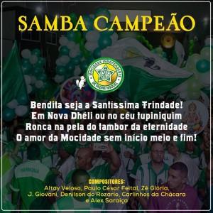 """""""Os filhos da Gandhi hoje são brasileiros!"""" Sambaço de Altay confirma favoritismo e vai disputar bi com a Mocidade"""
