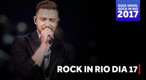 Guia do Rock in Rio: De volta ao Rio, Timberlake comanda o terceiro dia do festival