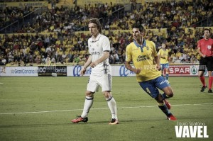 Luka Modric, elegido como el mejor del Las Palmas - Real Madrid