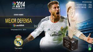 Sergio Ramos, mejor defensa de la Liga 2013/14