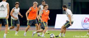 Modric y Benzema vuelven al grupo antes del Milan