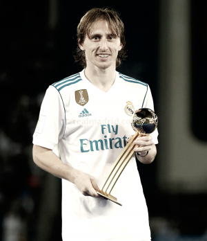 Modric Balón de Oro y Cristiano Balón de Plata