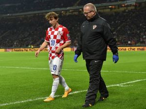 Modric out for 3 months with serious thigh injury