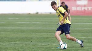 """Moi: """"Es la primera vez que consigo meter dos goles con el Villarreal"""""""