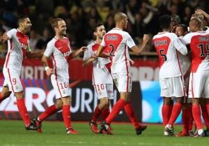 Ligue 1 - Il Monaco vince e mette pressione al Nizza, pareggi poco fruttuosi per Lille e Lorient