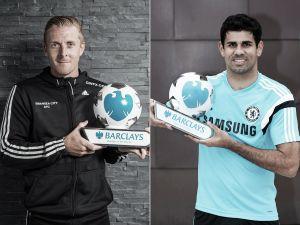 Monk y Costa, los mejores de agosto en la Premier League