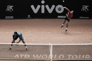 Monfils é eliminado por espanhóis nas duplas do Brasil Open