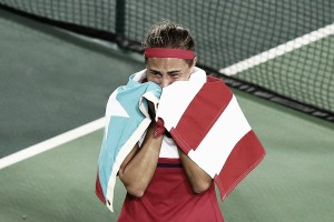Following unexpected support from peers, Monica Puig is more determined than ever to help her native Puerto Rico: exclusive