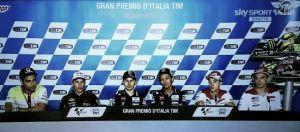 MotoGP: Parola a Rossi, Lorenzo, Marquez e Dovizioso