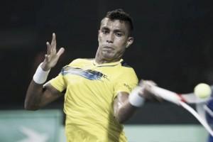 Monteiro atropela Giraldo na abertura do confronto contra Colômbia na Davis