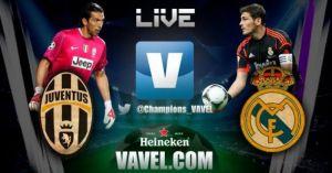 Juventus vs Real Madrid en vivo online