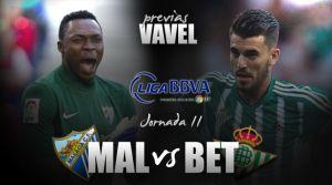 Málaga CF - Real Betis: resurgir en aguas verdes