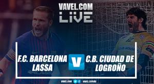 Resumen Barcelona Lassa vs Ciudad de Logroño en Supercopa ASOBAL 2017 (31-25)