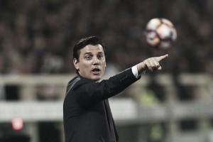 """Montella lamenta atuação do Milan contra Fiorentina: """"Faltou um pouco de coragem"""""""