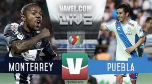 Emocionante empate entre Monterrey y Puebla
