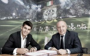 Juventus finalise €20million deal for Álvaro Morata