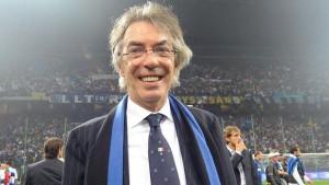 """Moratti entusiasta: """"L'Inter è da 2° posto"""""""