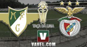 Moreirense vs Benfica, Taça da Liga en vivo y en directo online(0-2)