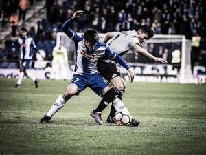 """Gerard Moreno: """"Hemos de mejorar la defensa a balón parado"""""""
