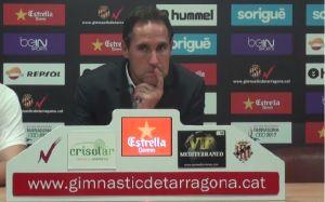 """Vicente Moreno: """"Hemos pasado demasiados apuros para las ocasiones que ha habido"""""""