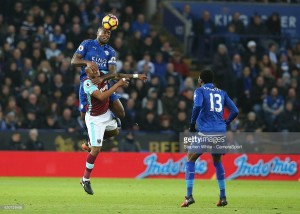 West Ham fight back to secure point against Leicester