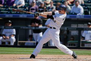 Rockies' Justin Morneau Wins N.L. Batting Title